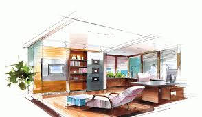 interior home deco stunning sketch home design contemporary interior design ideas