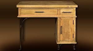 bureau fer forgé bureau de style rustique aspect massif et fer forgé