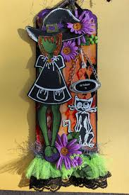 juju crafts halloween witch prima nutting doll tag with tim holtz
