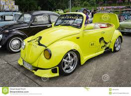 volkswagen yellow car vehicle retro vintage volkswagen car editorial image image of design 35063600