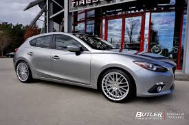 mazda number mazda 3 with 19in tsw parabolica wheels exclusively from butler
