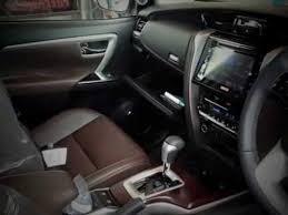 Toyota Interior Colors Toyota Fortuner 2016 Interior Youtube