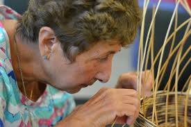 weaving friendship basket weaving for visually impaired adults