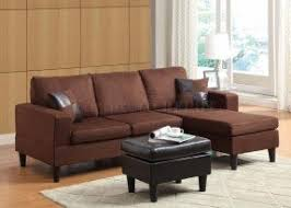 sectional sofas with ottoman microfiber sectional sofa with ottoman foter