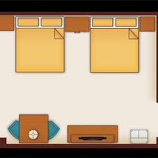Typical Hotel Room Floor Plan Standard Hotel Rooms Aulani Hawaii Resort U0026 Spa