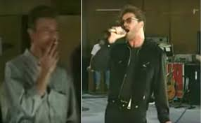 george michael watch the singer crush queen u0027s u0027somebody to love