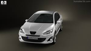 used peugeot 408 360 view of peugeot 408 2012 3d model hum3d store