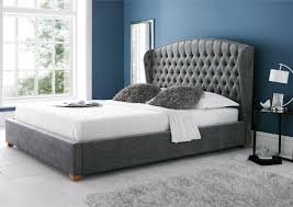 Queen Size Bed Frame White by Mia Upholstered Bed Frame King Size Beds Bed Sizes Bedding Ideas