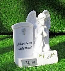 mam memorial praying by headstone mam grave cemetery grave