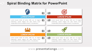 100 powerpoint quad chart template pick chart lean six