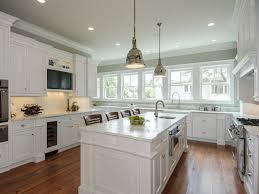 kitchen white kitchen cabinet granite countertop chrome pendant