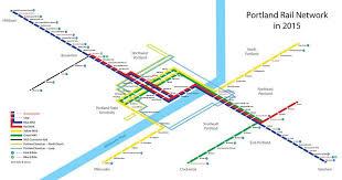 portland light rail map submission unofficial map portland oregon rail transit maps