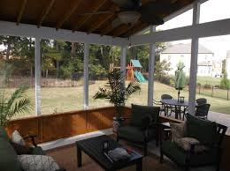Patio Half Wall A Salt Lake City Screened In Porch For Luxurious Outdoor Living