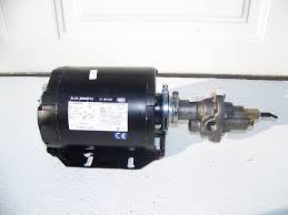 shurflo pump with 1 3 hp motor gear pumps pa biodiesel supply