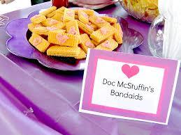 doc mcstuffins party ideas brownie bites blog