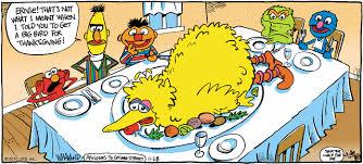 Thanksgiving Bird Image Big Bird For Thanksgiving Gif Muppet Wiki Fandom Powered