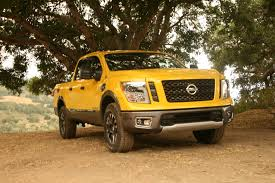 nissan titan off road nissan titan pro 4x crew cab gets tested in hilly terrain