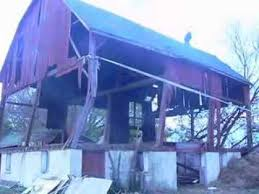 Barn Demolition Barn Demolition Youtube