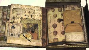 tim holtz folio wallflower mini album
