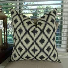 charcoal taupe premium decorative pillow geometric sofa pillow