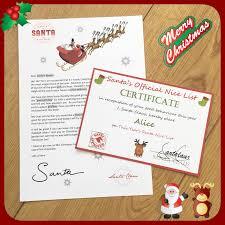 santa letter u0026 good boy certificate lucy u0027s labyrinth