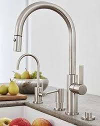 this beautiful rohl sink and faucet give your kitchen a classic