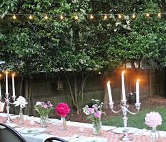 carolina charm a backyard dinner party