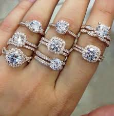 Wedding Rings For Women by Wedding Engagement Ring For Woman Birthday Gift Proposal Ring In
