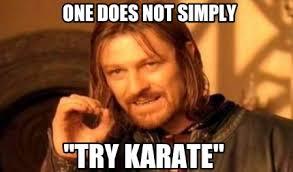 Karate Memes - meme creator one does not simply try karate meme generator at