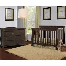 storkcraft 2 piece nursery set venetian convertible crib and