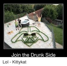 Drunk Baby Meme - join the drunk side lol kittykat drunk meme on sizzle