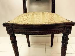Ebay Chippendale Schlafzimmer In Weiss Ges Kleine Hölzerne Stuhl Stuhl Schlafzimmer Wohnzimmer 900