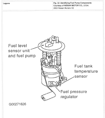 nissan altima fuel pump 2003 murano fuel pump i need to remove the fuel tank