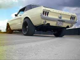 Black 67 Mustang Coupe 1967 Mustang With American Thunder Flowmaster Exhaust Project