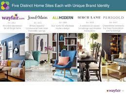 home decor wayfair wayfair 2017 q3 results earnings call slides wayfair nyse w