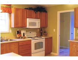 Unfinished Oak Kitchen Cabinets Corner Light Brown Wooden Cabinet With White Counter Top Placed On