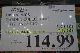 Orian Area Rugs Orian Rugs Garden Collection 8 X 12 Indoor Outdoor Area Rug