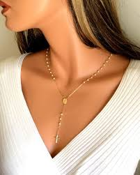 gold cross rosary necklace images 461 best cross rosary necklace images anklet jpg
