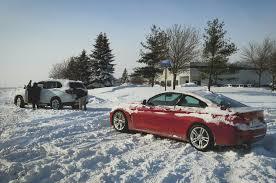 lexus ls in snow winter u0027s cold lessons automobile magazine