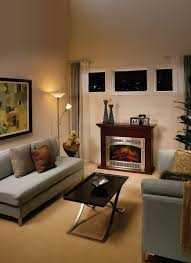 Designing A Small Living Room With Fireplace Living Room Living Room With Electric Fireplace Decorating Ideas