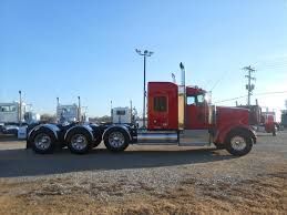 kenworth trailers used 2015 kenworth w900l tri axle sleeper for sale in ms 6434