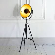 Spotlight Floor Lamp Floor Lamps Nauticalmart Hollywood Studio Copper Finish Tripod