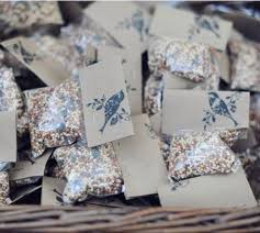 bird seed favors bird seed favors with st intimateweddings pinteres
