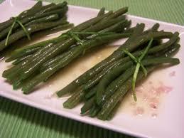 comment cuisiner des haricots verts haricots verts à la vinaigrette plat du jour recettes de cuisine