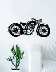 motorcycle home decor motorcycle quote decal sticker wall vinyl art home decor