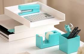 Teal Desk Accessories Office Supplies Desk Tidy Brubaker Desk Ideas
