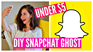 diy halloween costume idea funny cheap u0026 easy snapchat ghost