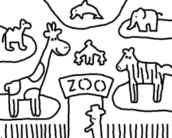 zoo 82 animals u2013 printable coloring pages