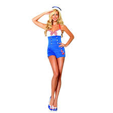 high seas honey pin up sailor women u0027s halloween costume leg