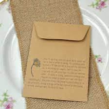 wedding seed packets autumn wedding favour seed packet with the beautiful ox eye